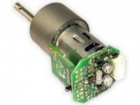 High Torque 12V DC Geared Motor 900RPM with Driver