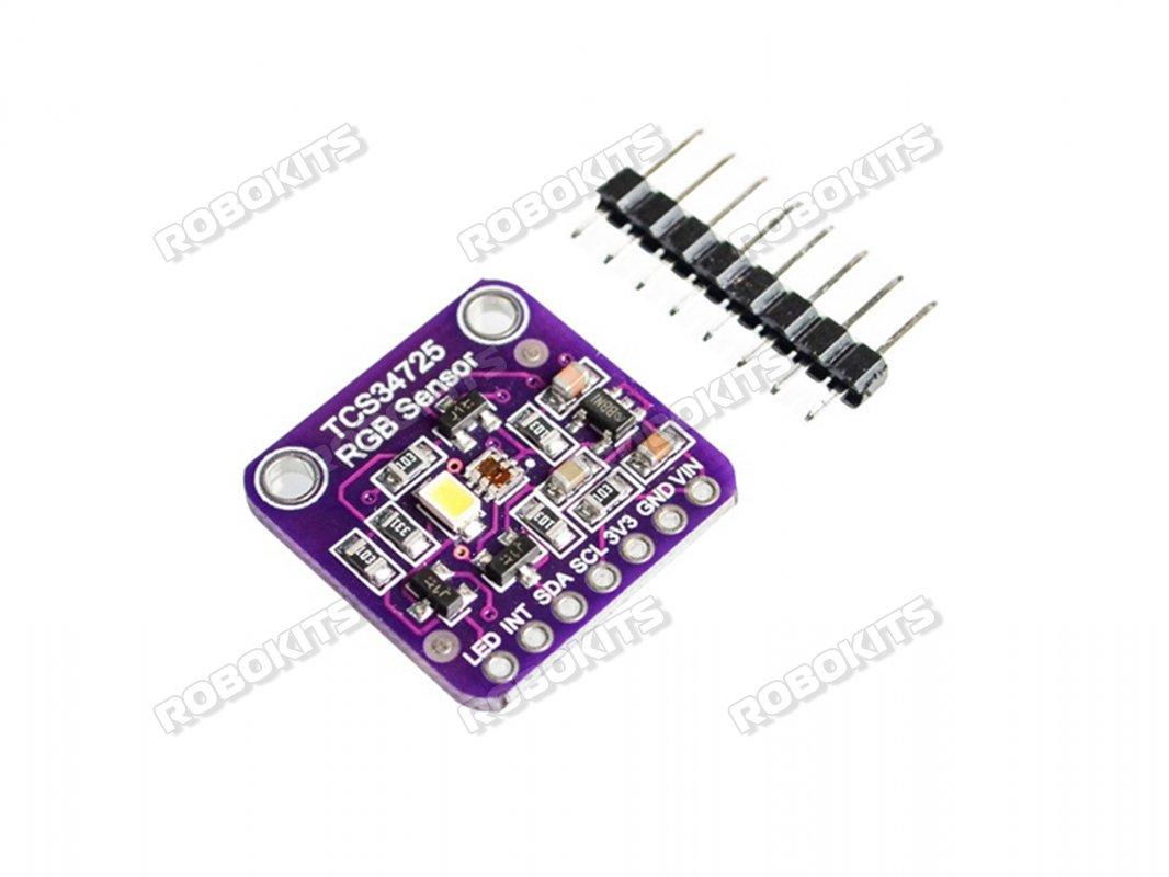 CJMCU-34725 TCS34725 RGB Color Sensor Module IR Filter I2C Interface