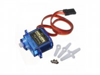 SG90 9G Mini Servo 360 Degree Continuous Rotation