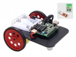 865Mhz Wireless Robot DIY Kit Compatible with Arduino