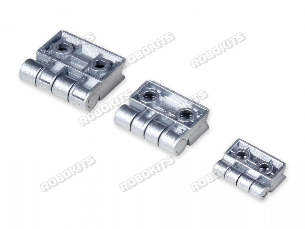 Aluminium Alloy Metal Hinges for 3030 Profile 4pc set - Click Image to Close