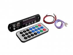 Bluetooth WAV/WMA/MP3 decoding board Inbuilt USB/ FM/ Memory Card Slot and Remote
