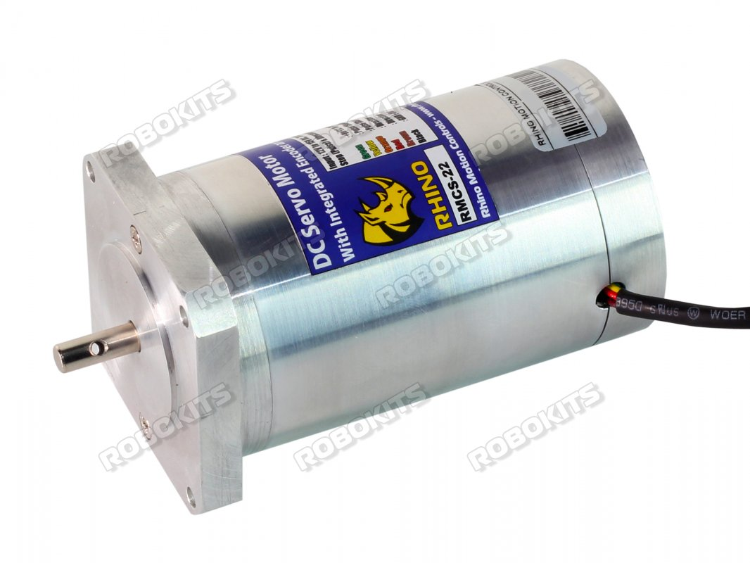 Nema23 High Torque Encoder DC Servo Motor 300RPM with Step/Dir Drive - Click Image to Close