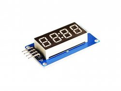 TM1637 4 Bits Digital Tube LED Display Module With Clock Compatible with Arduino
