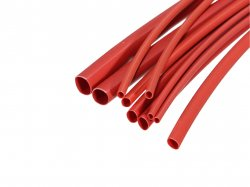 Heat Shrink Sleeve 4 mm Red Premium Quality Industrial Grade WOER (HST) MOQ 2 meter