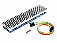 MAX7219 Dot Led Matrix Module 4 In 1 Display with 5P Line Module