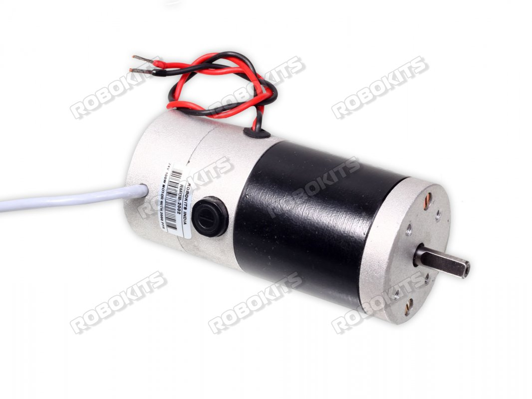 DC Servo motor 24V 100W with 2000 PPR encoder on