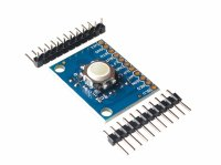 HW-204 Blackberry Trackball Hall Effect Sensor 360° Trajectory Ball Module