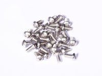 M3 x 6 mm SS Bolt Precision Stainless Steel 304 pack of 25 pcs