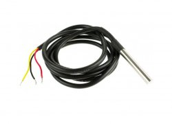 DS18B20 Temperature Sensor Probe Waterproof 1 Meter Length