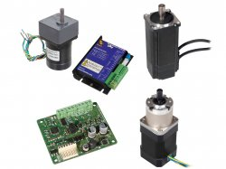 Brushless Motor + Drives