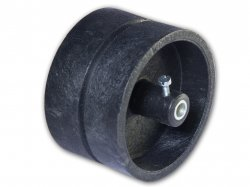 Pulley for track belt 4 cm