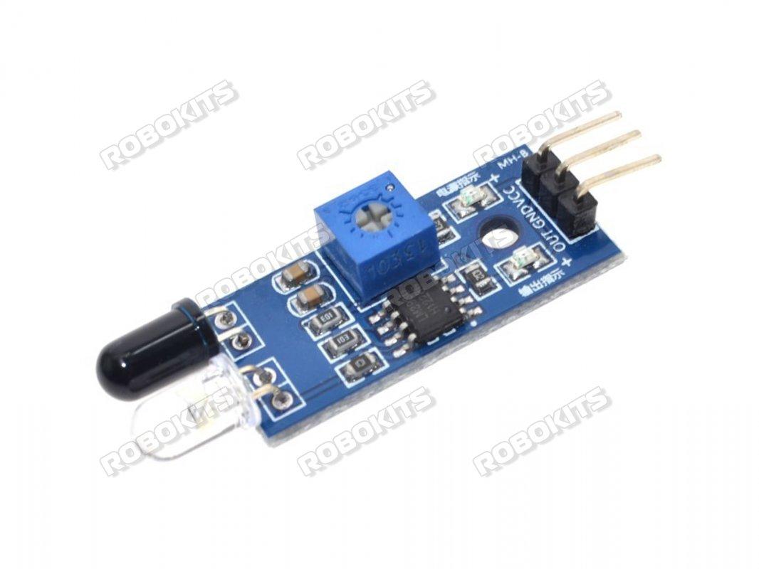Ir Obstacle Sensor Module Rki 3141 40 Robokits India Easy 8051 Microcontroller Ultrasonic Rangefinder Using Circuit Diagram