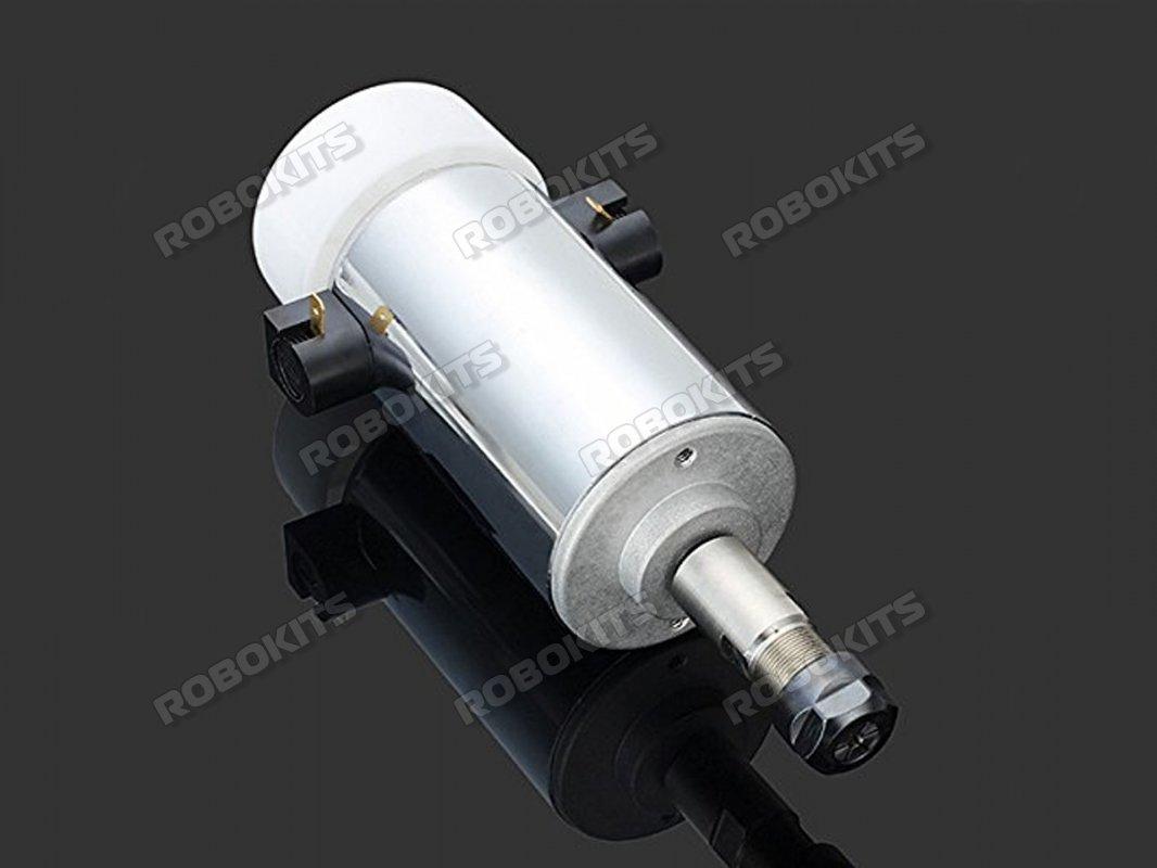 300W 48V 52mm High Speed Spindle Motor 12000rpm er11 CNC Collet for DIY Engra...