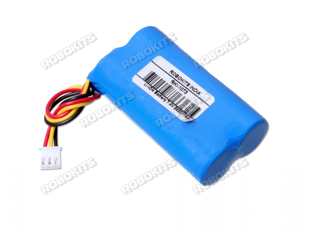 Lithium Ion Battery >> Lithium Ion Rechargeable Battery Pack 7 4v 2200mah 2c Rki 1073