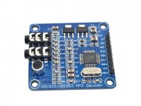 VS1003B High Quality MP3/WMA/MIDI Audio decoder ADPCM Encoder module SPI Interface