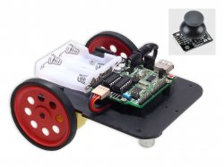 Joystick Wired Robot DIY Kit Compatible with Arduino