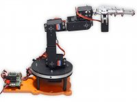 Robotic Arm Kit : Robokits India, Easy to use, Versatile Robotics