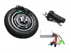 10Inch BLDC Hub Motor with 24V 350W Controller And Throttle