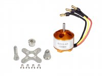 RC Brushless Motor 2212 2200KV with Soldered Banana Connector