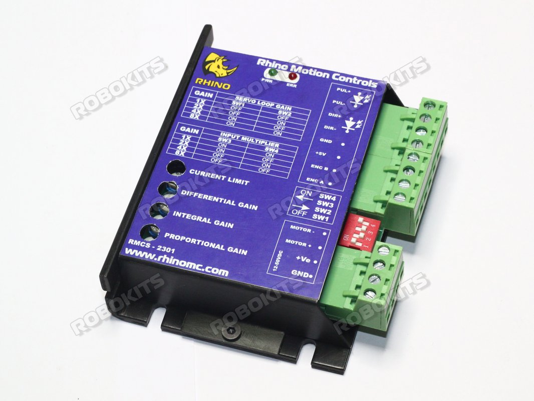 Dc Servo Motor Driver 40v 20a W T Step Direction Input Rmcs 2301 Tutorial Control Basics Working Of