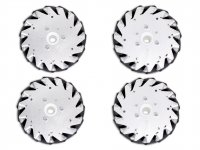 152mm Mecanum Wheel Set (2x Left, 2x Right)