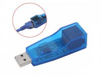 USB 2.0 to Ethernet RJ45 Network LAN Adapter Card