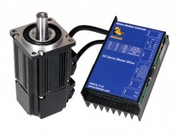 Low Voltage AC Servo Motor