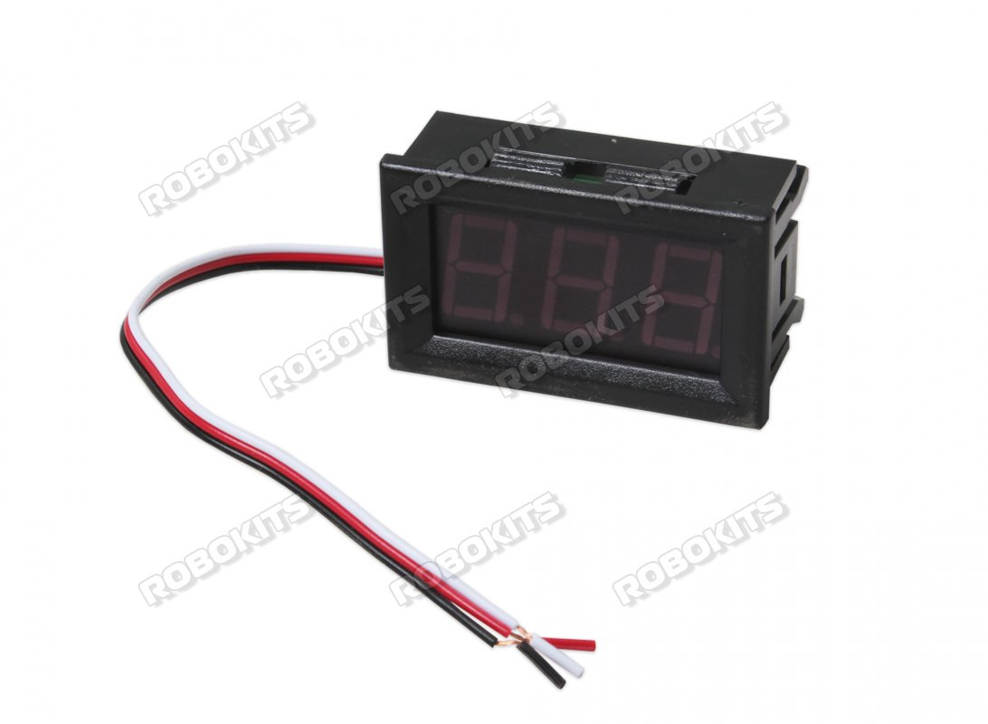 0.28Inch 0-30V Three Wire DC Voltmeter