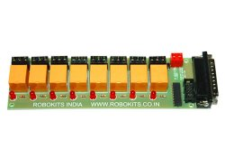 Eight Channel Relay Interface Board