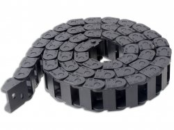 Cable Drag Chain Wire Carrier with end connectors 10x20mm 1Meter