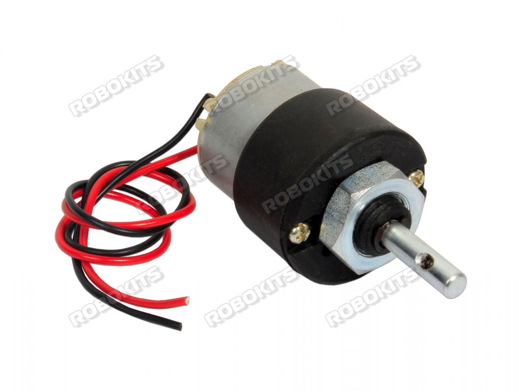 200RPM 12V DC Motor with Gearbox