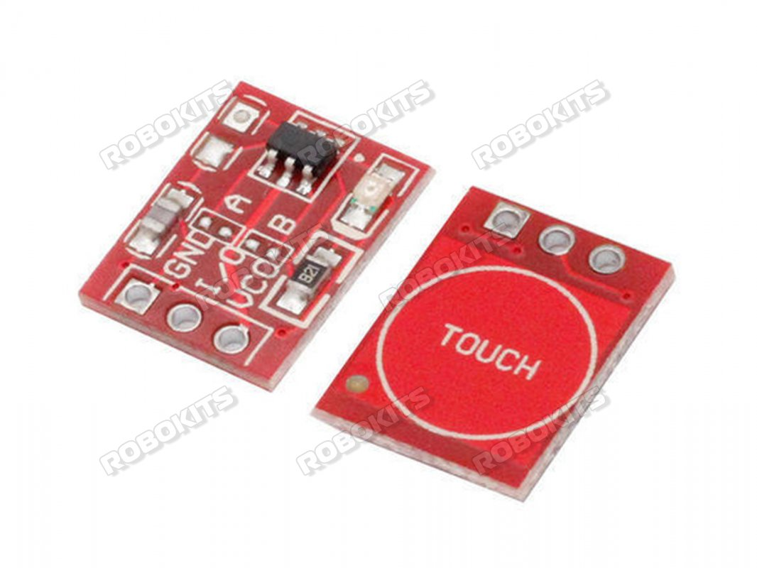 Capacitive Touch Module based on TTP223 - Click Image to Close