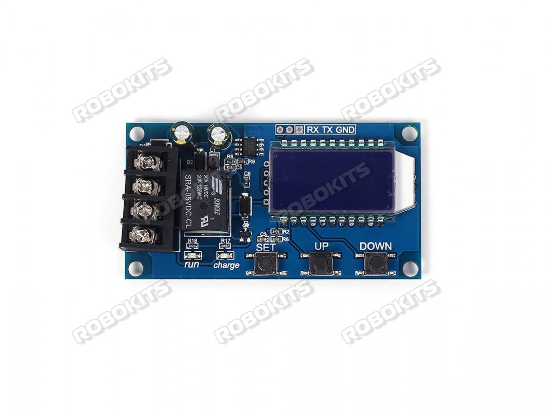 XY-L10A Digital Li-ion Battery 6-60V/10A Charging Control LCD display  module Overcharge Protection Switch