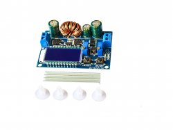 ZK-SJVA-4X Digital Display 5-30V Buck-Boost Power Supply Module with Power Measurement