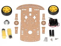 Robot Chassis Kit with tachometer encoder & BO motors