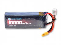 GenX 14.8V 4S 10000mAh 25C / 50C Premium Lipo Lithium Polymer Battery with XT-90 Connector