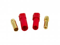 XT150 Connector Male-Female Pair(Red)