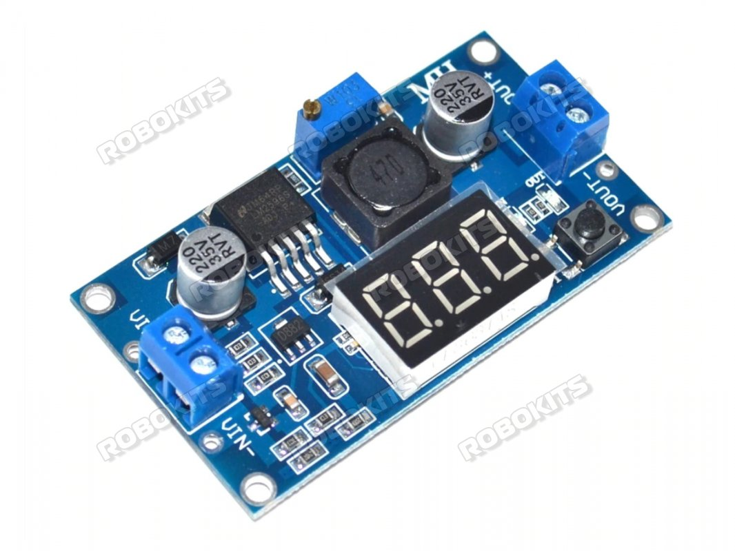 LM2596 DC to DC 3A Step Down Module with Voltage Display - Click Image to Close