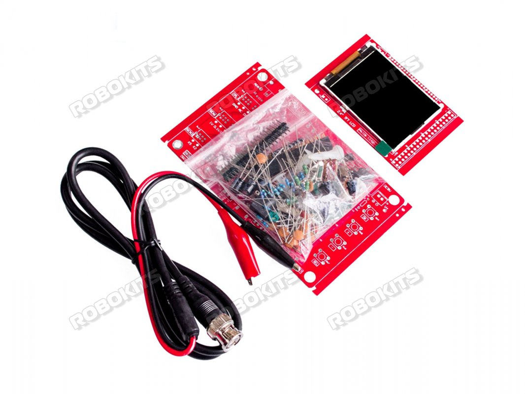 DSO138 Digital Pocket-size Oscilloscope Production DIY Kit - Click Image to Close