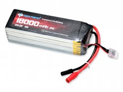 GenX 22.2V 6S 18000mAh 25C / 50C Premium Lipo Battery with AS150+XT150 Connector