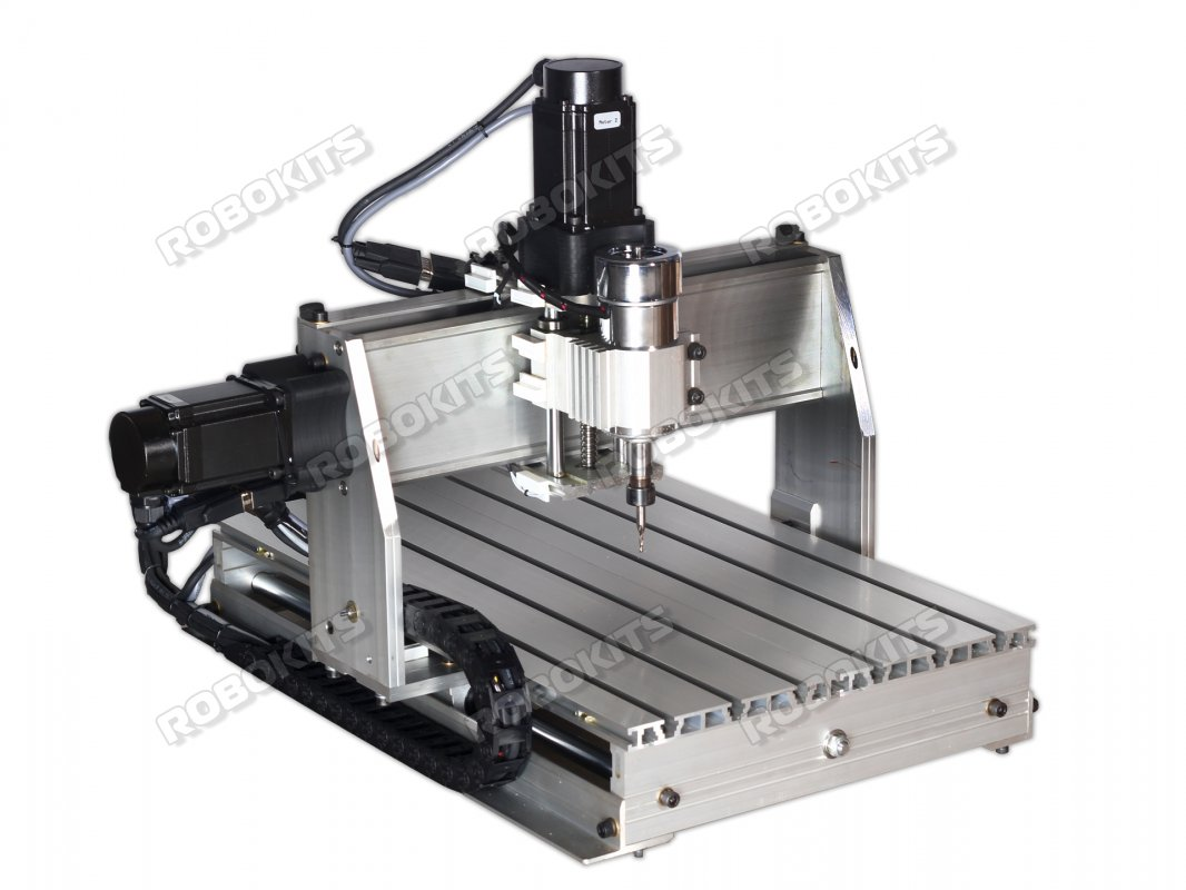 CNC 300x400mm with 10Kgcm Servo Motors & Controller DIY Kit - Click Image to Close