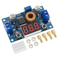 XL4015 DC-DC 5A Step Down With Display Input 4-38V Output 1.25-36V