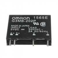 Solid State Relay Omron G3MB-202P 5VDC In, 240VAC 2A Out