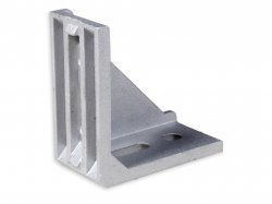 L Shape Aluminium Reinforcement DCBK Clamp With Right Angle for 4040 & 4080 Profile