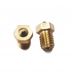 E3D V6 Copper Nozzle Aperture of 0.4mm for 1.75mm Filament