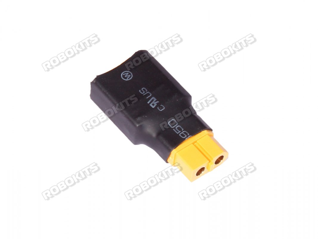 XT90 Male Plug to XT60 Female Plug Connector - Click Image to Close