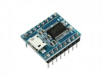 JQ6500 Mini MP3 Voice Module 16Mbit Flash memory UART