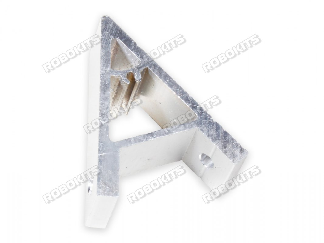 45 Degree Right Angle Connection Piece for Aluminium 4040 Profile - Click Image to Close