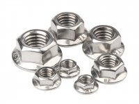 Astro M5 Flange Nuts 304 Stainless Steel - 10 Pcs